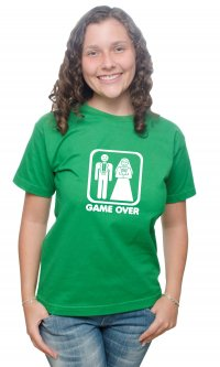 Camiseta Game Over Casamento