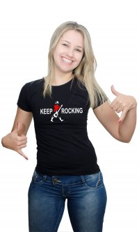 Camiseta Keep Rocking